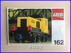 Vintage lego train 162. This Set From 1977 Is In Amazing Condition. Very Rare