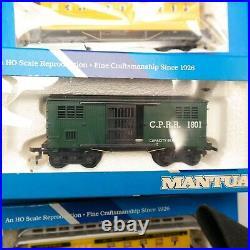 Vtg New Old Stock Set of (9) Mantua HO Train Cars Denver Rio Grande Very Nice